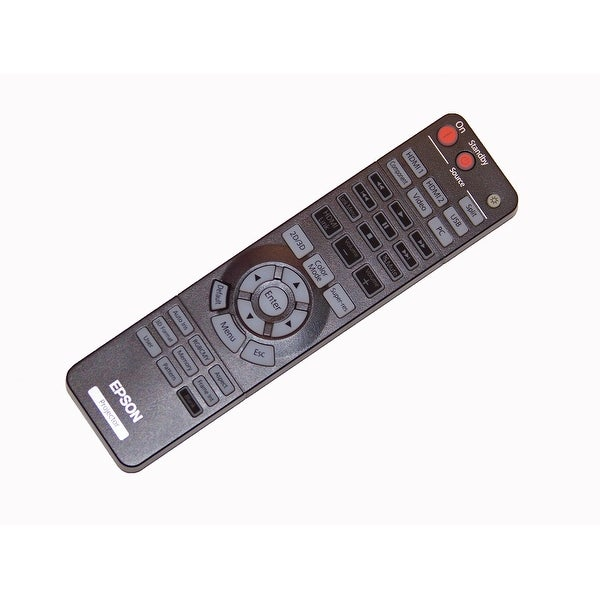 Epson Remote Control Originally Shipped With: EH-TW9100, EH-TW9100W, EH-TW8100W