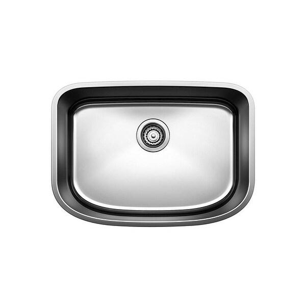"Blanco 441587 One Series 23-1/2"" Single Bowl Undermount Stainless Steel Kitchen Sink - Satin Polished"