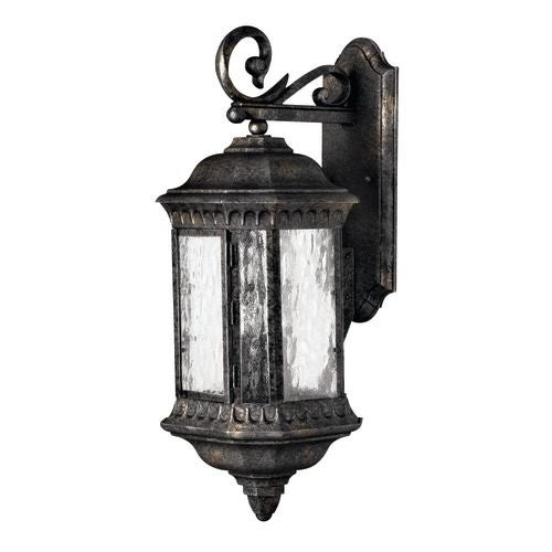 "Hinkley Lighting H1725 23.5"" Height 3 Light Lantern Outdoor Wall Sconce from the Regal Collection"