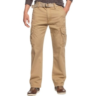 Unionbay Mens Cargo Pants Flat Front Casual