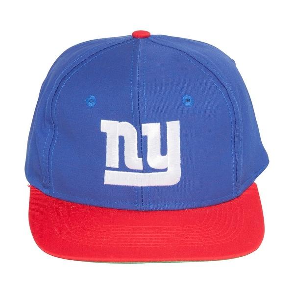 04a46d82e95 Shop NFL 2 Tone New York Giants Snapback Hat Cap - Blue / Red - Free ...