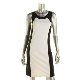 Kensie Womens Juniors Ponte Heathered Party Dress - XS