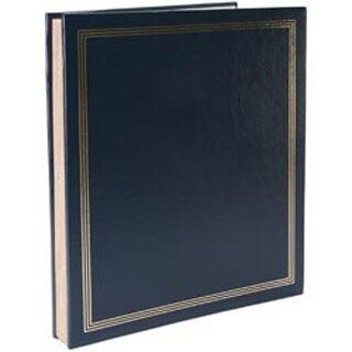"Navy Blue - Post Bound Jumbo Album 11""X14"""