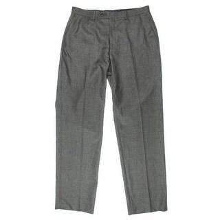 Sean John Mens Twill Flat Front Dress Pants - 34/32