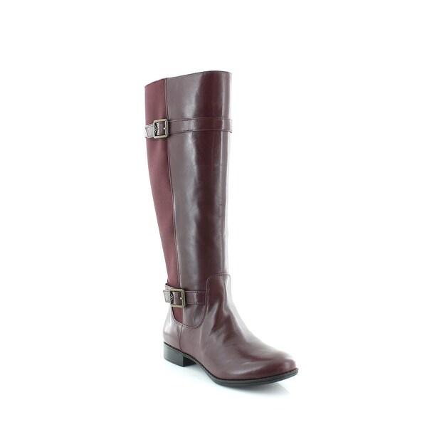 Isaac Mizrahi Live! Abby Women's Boots Burgundy