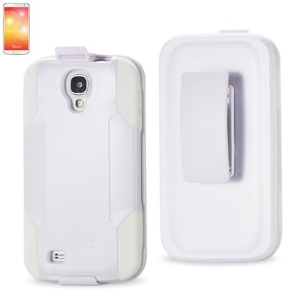 Reiko - Silicone Case Plus Protector Cover with Holster and Clip for Samsung Gal