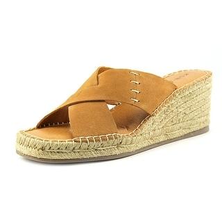 Kelsi Dagger Irmawn Open Toe Leather Wedge Sandal