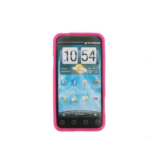 Technocel Slider Skin Case Cover HTC EVO 3D (Pink)
