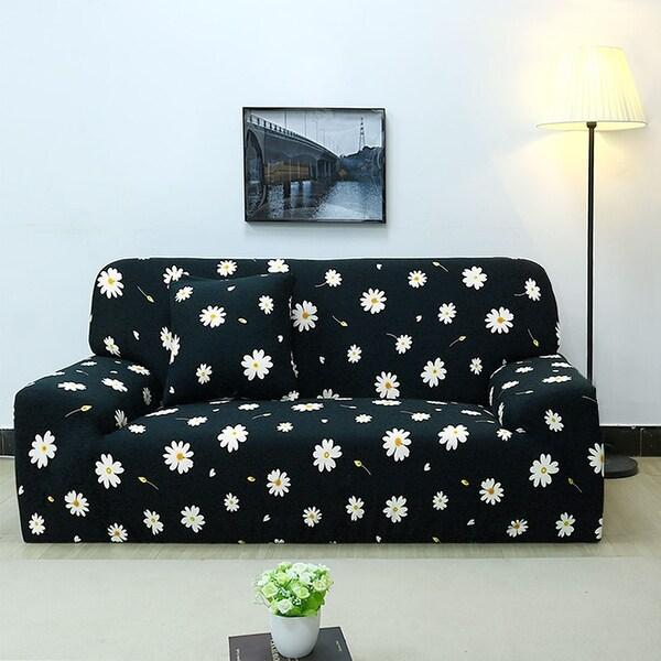 Shop Unique Bargains Polyester Stretch Sofa Slipcovers (74 x ...