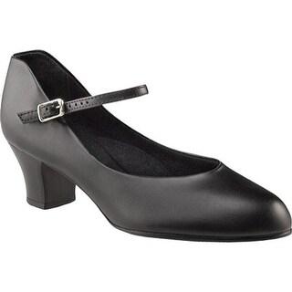 Capezio Dance Girls' Jr. Footlight G - 550X Black
