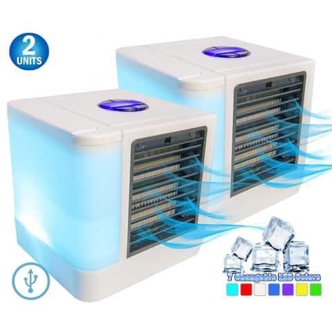 2 Polar Portable Air Conditioner Small Personal Evaporative Space Cooler AC