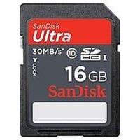 SanDisk SDSDU2-016G-AC11 16 GB Ultra SDHC Memory Card - Class 10 (Refurbished)