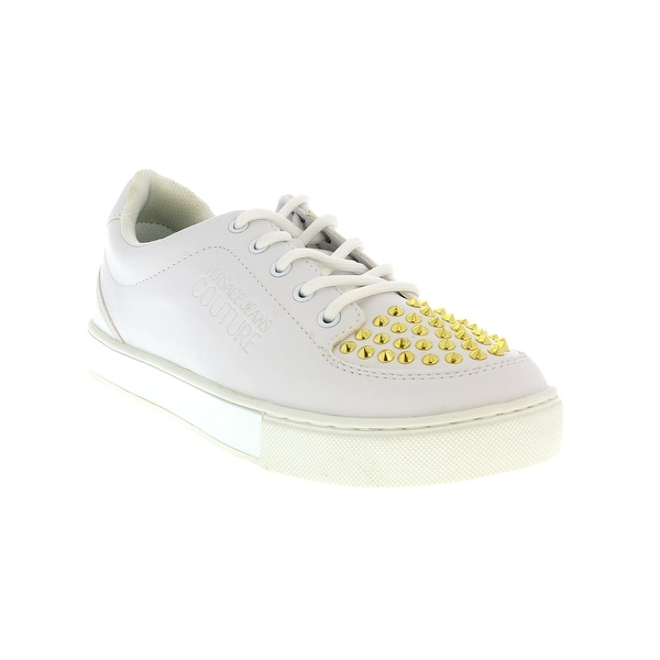 Versace Jeans Couture KIM White/Gold Sneakers. Opens flyout.