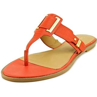 Calvin Klein Ula Toscana Women Open Toe Leather Sandals