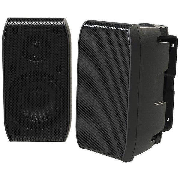 Fusion MS-BX3020 Black Two Way Full-Range Cabin Speakers with 100W Power