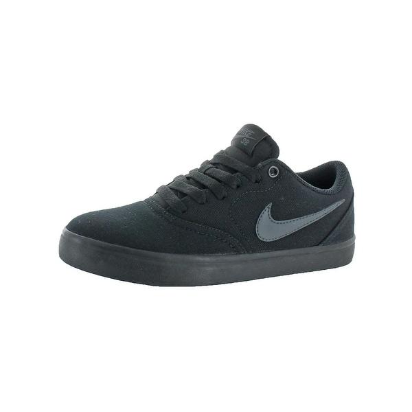 Nike Mens Check Solar Skateboarding Shoes Solar Sole Round Toe
