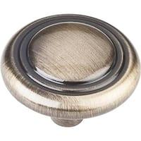 Elements 202 Kingsport 1-1/4 Inch Diameter Mushroom Cabinet Knob