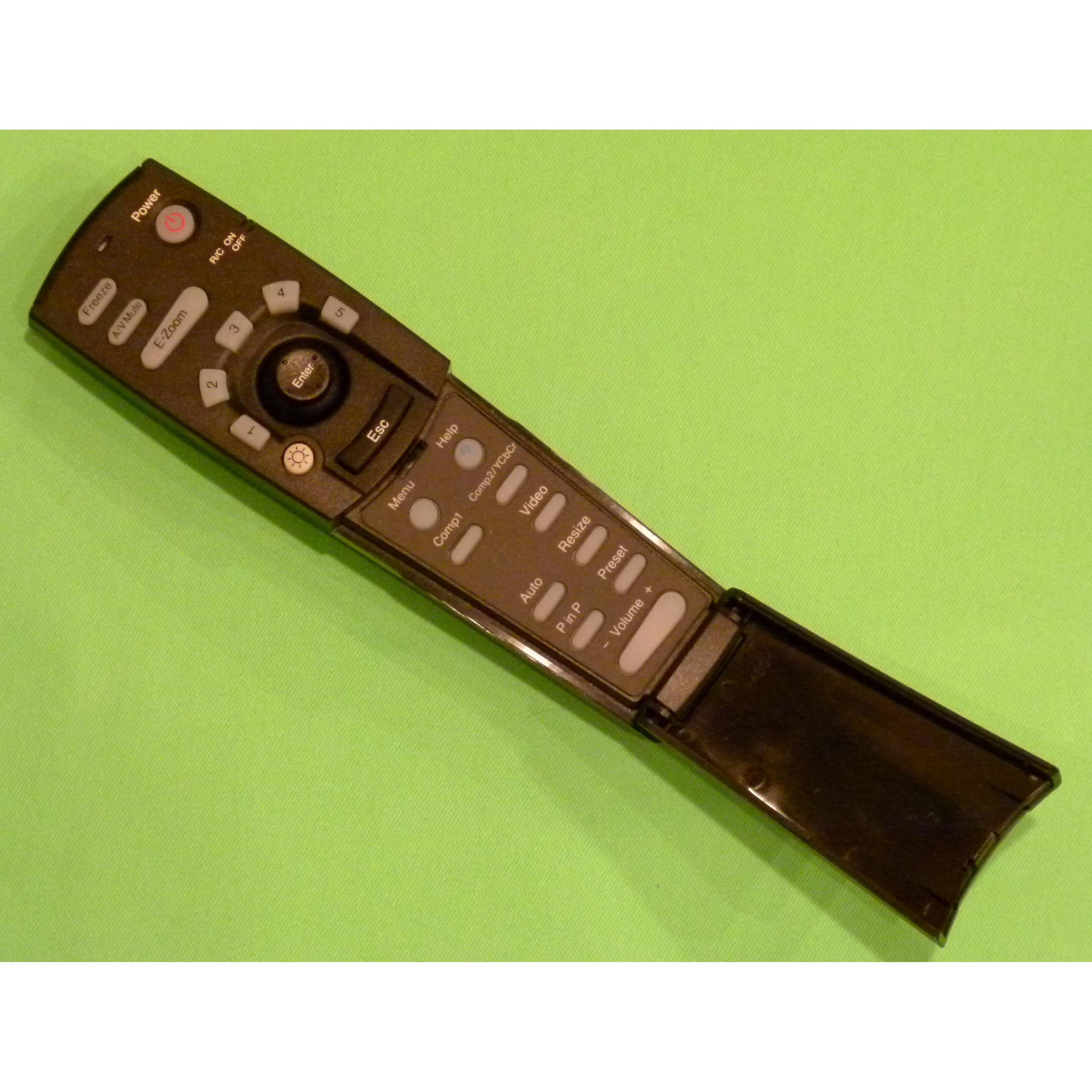 OEM Epson Projector Remote Control Shipped With PowerLite 5530U PowerLite 5535U
