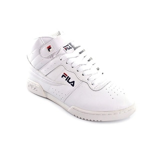 Fila F-13V Men Round Toe Leather Sneakers