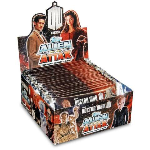 Doctor Who Alien Attax Card Game Pack: Case of 24 - Multi