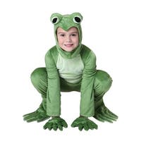 Child Deluxe Frog Costume