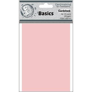 Fundamentals Cardmaking A6 Cards 10/Pkg-Rose