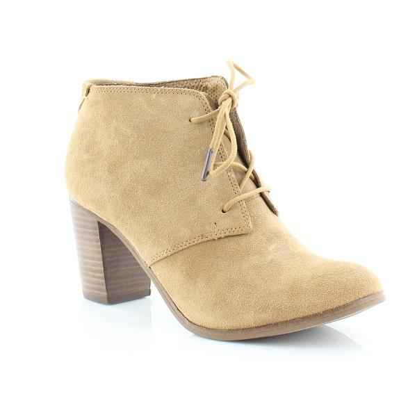 cd92bc4f8de Shop TOMS Lunata Lace-Up Women s Boots Wheat Suede - 9.5 - Free ...