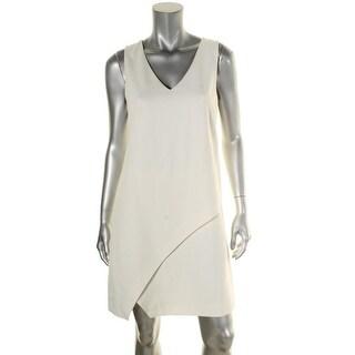 Diane Von Furstenberg Womens Jenn Wear to Work Dress V-Neck Sleeveless