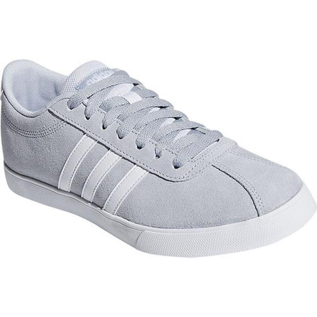 82f2960b adidas Women's NEO Courtset Sneaker Aero Blue S18/FTWR White/FTWR White