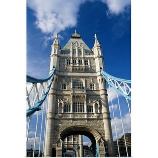 """Tower Bridge, London, England"" Poster Print"