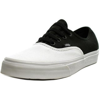 Vans Authentic Men  Round Toe Canvas White Skate Shoe
