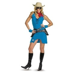 Sassy Lone Ranger Adult Costume Size L (12-14)