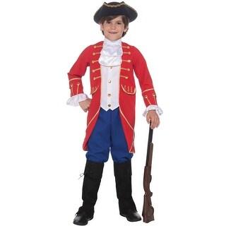 Forum Novelties Founding Father Child Costume (M) - Red/Blue - Medium
