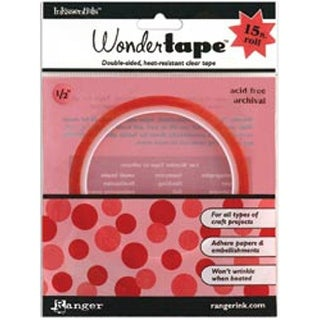 """.5""""X15' - Inkssentials Wonder Tape Redline"""