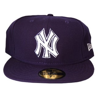 MLB New York Yankees New Era 59Fifty Navy Fitted Hat Cap