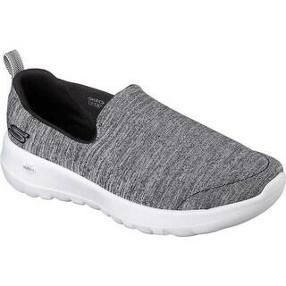 Skechers Women's GOwalk Joy Enchant Slip-On Walking Shoe Black/White