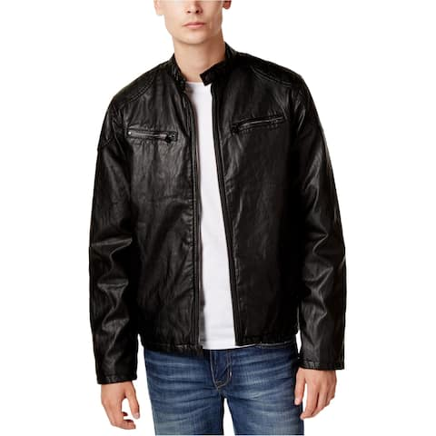 Levi's Mens Faux Leather Motorcycle Jacket
