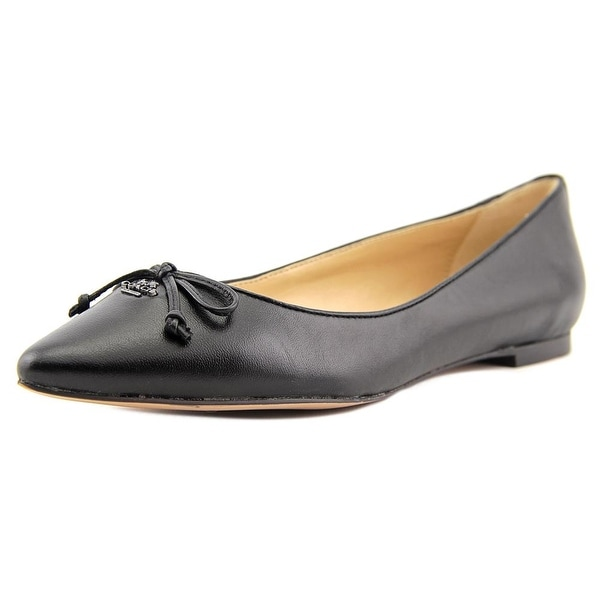 Coach Radient Women Pointed Toe Leather Flats