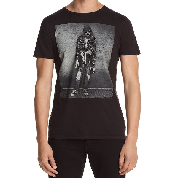b7836645 Shop Trunk Limited Mens Kurt Cobain Graphic Tee T-Shirt - Free Shipping On  Orders Over $45 - Overstock - 26985768