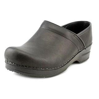 Sanita Smart Step Prof. Kirstin Women Leather Black Nursing & Medical Shoe