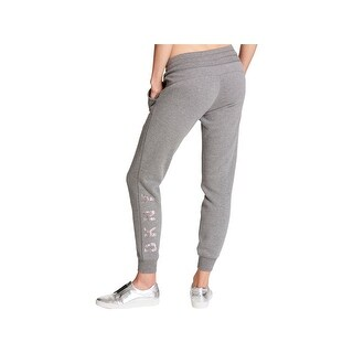DKNY Womens Jogger Pants Performance Drawstring