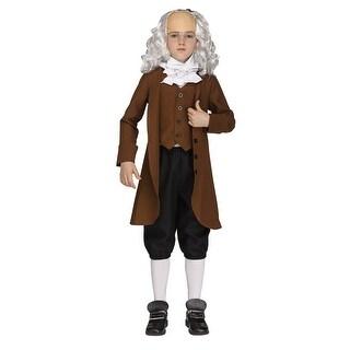Boys Ben Franklin American President Costume