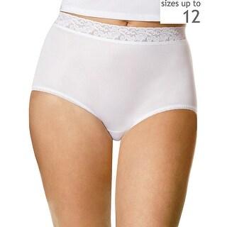Hanes Women's Plus Nylon Brief 3-Pack - 11