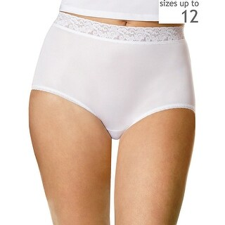 Hanes Women's Plus Nylon Brief 3-Pack - Size - 11 - Color - Assorted