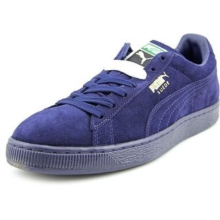 Puma Suede Classic + ICE Round Toe Suede Sneakers