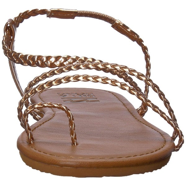 67de85c90 Shop Billabong Women s Summer Breeze Flat Sandal - Free Shipping On Orders  Over  45 - Overstock - 27099008