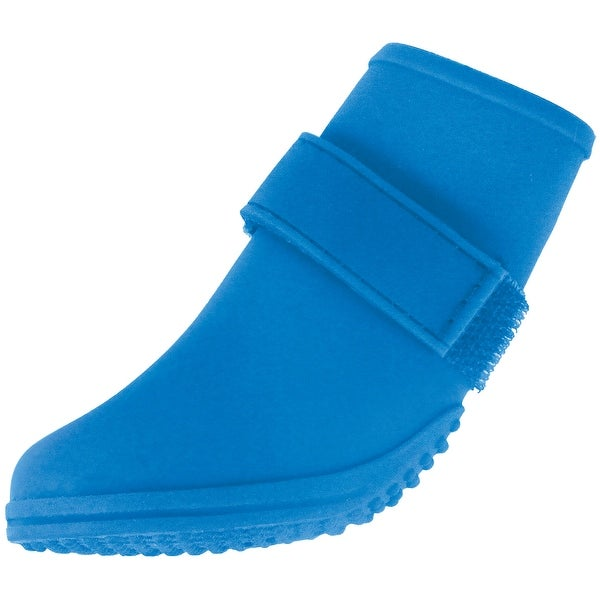 35415f5d4a000 Jelly Wellies Preimum Rain or Shine Waterproof Dog Boot with Extra Firm  Gripping Soles- X-Small, Blu