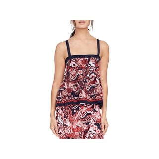Rachel Rachel Roy Womens Strapless Top Printed Night Out - M