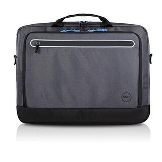 """Dell Xfjpm Urban Carrying Briefcase For 15.6"""" Notebook - Asphalt"""