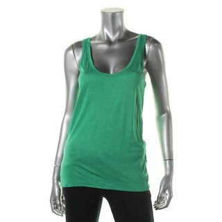 Zara W&B Collection Womens Silk Blend Slub Tank Top